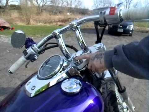 2001 Honda Shadow Spirit Wicked Intentions Youtube