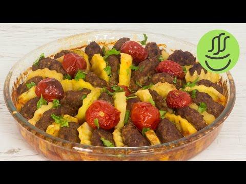 ÇOOK LEZZETLİ Fırında Köfte Patates