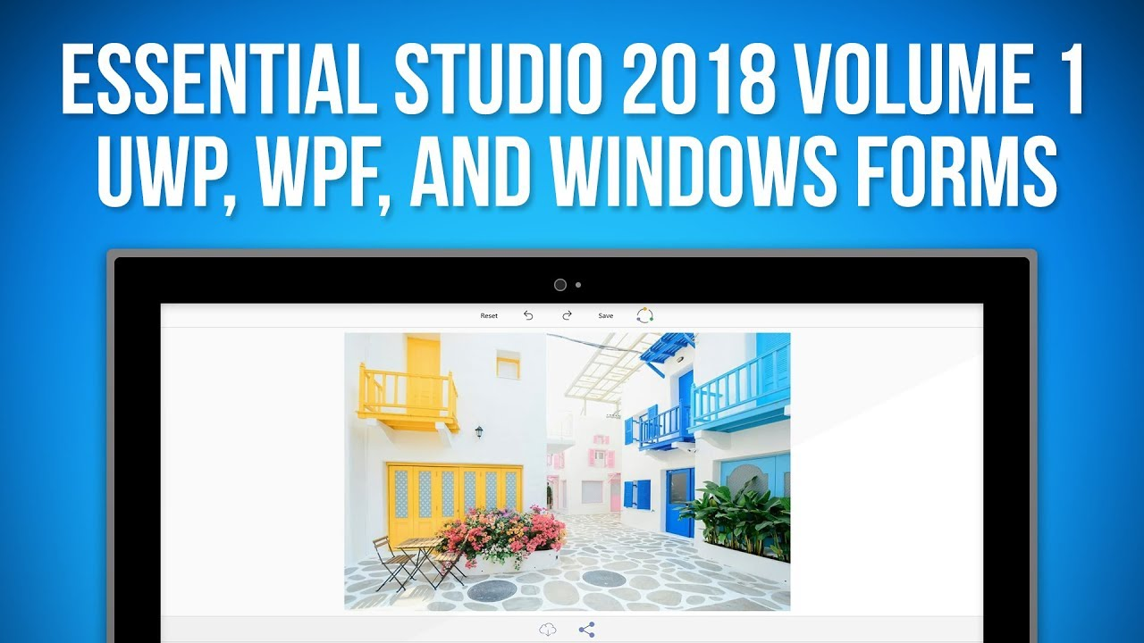 Essential Studio for UWP, WPF, and Windows Forms (2018 Volume One)