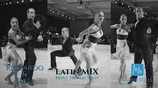 Riccardo Cocchi - Yulia Zagoruychenko I LATIN MIX - MusicMillsLIVE I USDC 2019