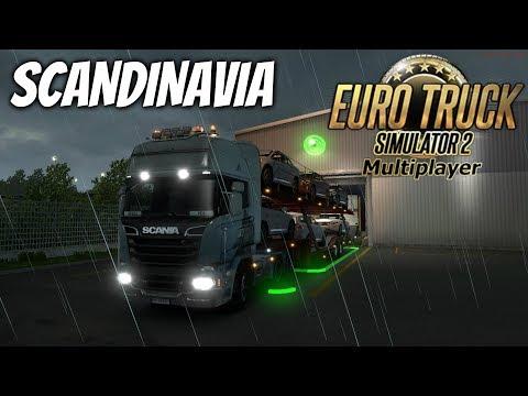 EURO TRUCK SIMULATOR 2 - VIAGEM PELA SCANDINAVIA