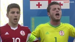 Georgian Nationat anthem by Georgia U 17 (08.09.2017)