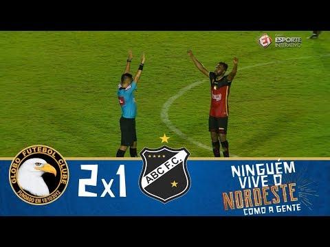 Melhores Momentos - Globo 2 x 1 ABC - Copa do Nordeste 20032018