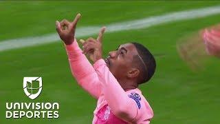 ¡GOL Y DEBUT! Malcom anota en su primer partido con el Barcelona en Champions