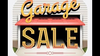 Гаражная распродажа в США , Американские гаражи . Ну что попробуем что то продать .