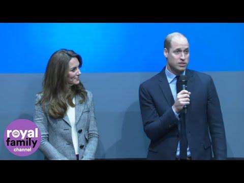 Duke and Duchess of Cambridge Thank Mental Health Volunteers