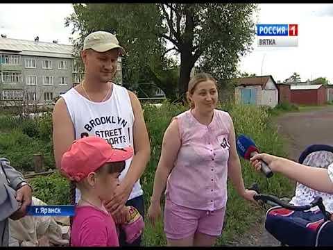 В Яранске демонтировали два корпуса аварийного элеватора (ГТРК Вятка)
