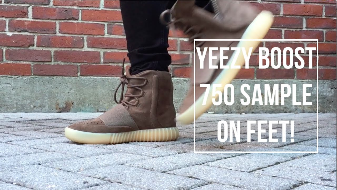 b41b8b5ffc3 Brown Yeezy Boost 750 On Foot Review! - YouTube