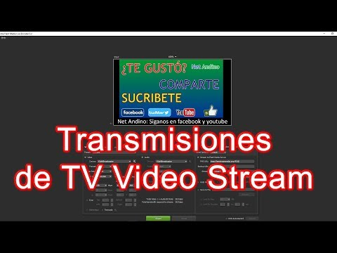 Transmisión de TV video streaming por internet