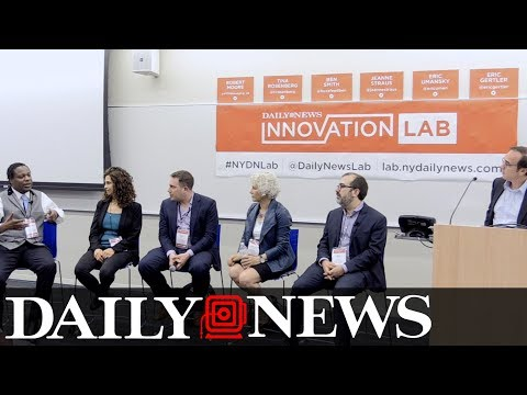 Daily News Innovation Lab: Journalism in the Age of Collaboration and Technology (Full Panel)