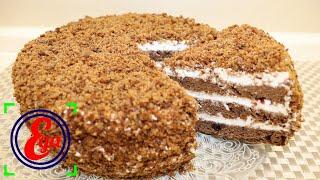 Вы будете удивлены узнав из чего готовится этот торт Торт Анжелика