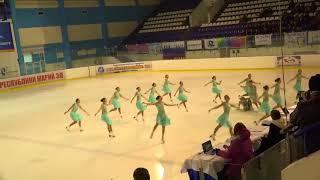 Чемпионат России по синхронному катанию  KMC  ПП 11 Кристалл Айс МОС