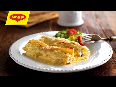 Chicken and Mushroom Cannelloni : MAGGI® Recipe