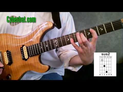 Andy Summers Police Sus2 Guitar Chord Youtube