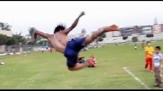 MY GAME WINTER 2014-EAGLE JABER ابداع لنسر الكونغ فو يستحق المشاهدة