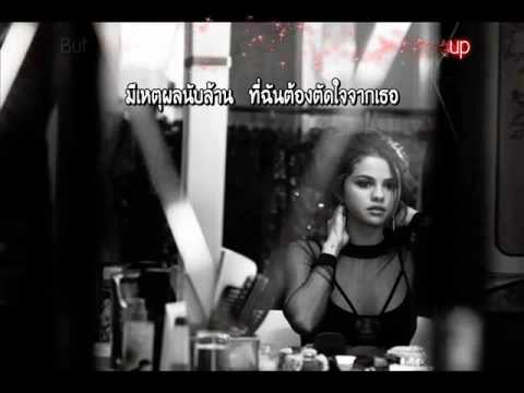 แปลไทย [Kara] The Heart Wants What It Wants - Selena Gomez