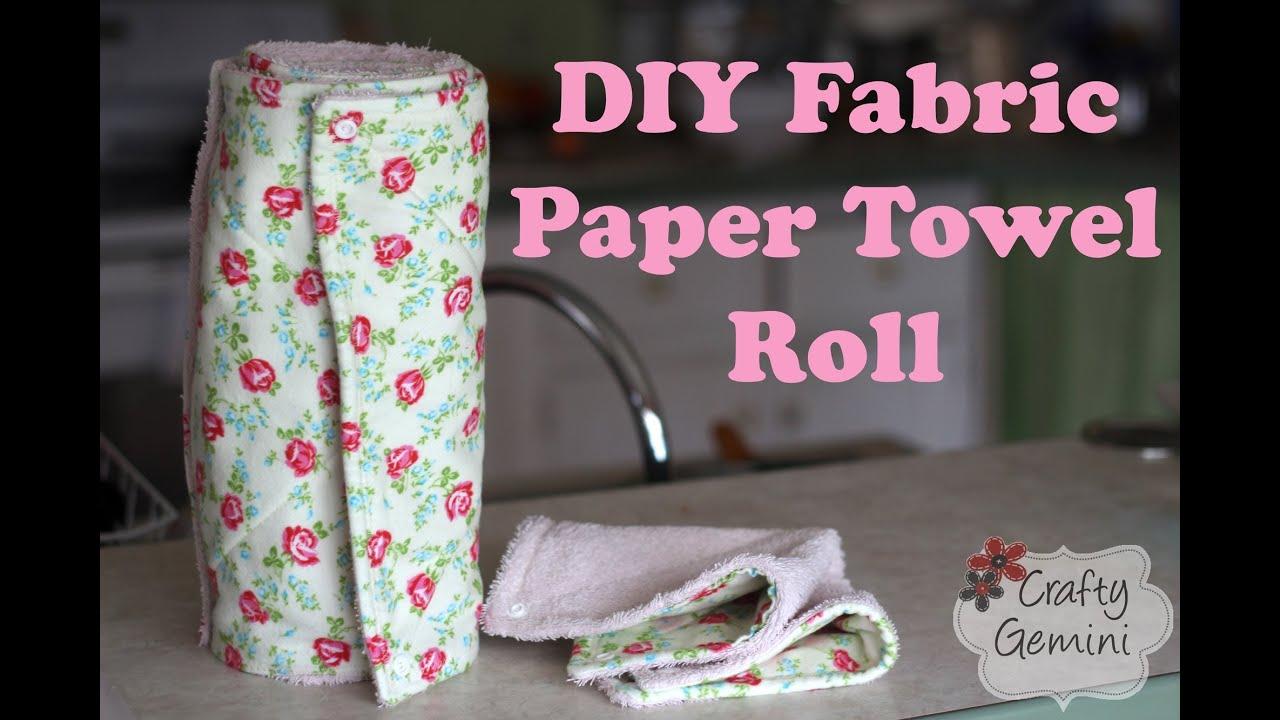 Fabric paper towel roll diy tutorial solutioingenieria Choice Image
