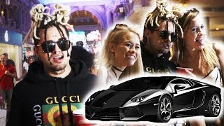 Download PRETENDING TO BE LIL PUMP!! (featuring LIL PUMP, his Bodyguard & Lamborghini) Mp3 and Videos