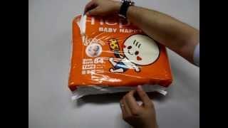 Nepia Baby Nappy  размер NB ( до 5кг)(Японские подгузники на липкой ленте Nepia Baby Nappy размера NB (New Born) для новорожденных, подходят для малышей с..., 2012-09-13T04:49:43.000Z)
