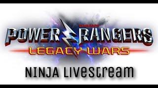 Power Rangers: Legacy Wars Livestream #62 - Do Evento Megazord para Desafio Mini Zords