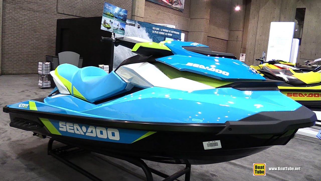 2015 sea doo gti 155 se jet ski walkaround 2015 montreal boat show youtube. Black Bedroom Furniture Sets. Home Design Ideas