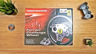 Thrustmaster Ferrari Challenge Wheel - UNBOXING - 4K