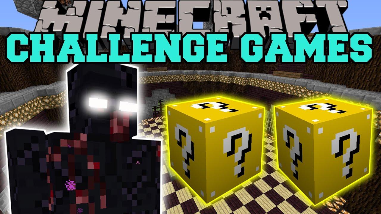 super girly gamer lucky block challenge