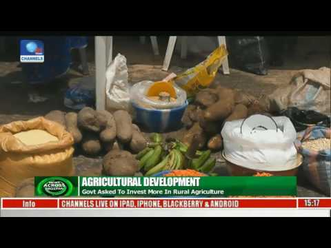 News Across Nigeria: Govt Asked To Invest More In Rural Agriculture Pt 2