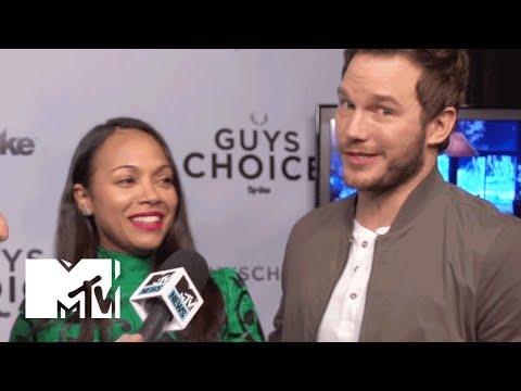'Guardians of the Galaxy' Stars Chris Pratt & Zoe Saldana Talk About The Sequel  MTV