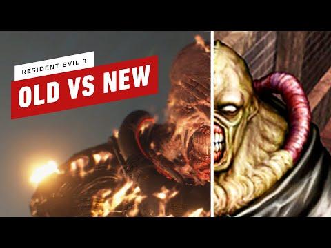 Resident Evil 3: Old Vs New Comparison - SPOILERS
