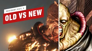 Resident Evil 3: Old Vs New Comparison - SPOILERS
