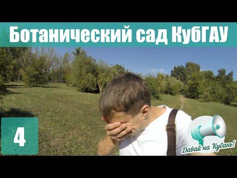 Ботанический сад КубГАУ - Давай на Кубань!