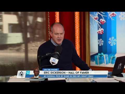 Pro Football Hall Of Famer Eric Dickerson on Thoughts of Fisher Firing - 12/13/16