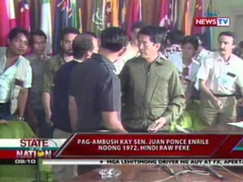 SONA: Pag-ambush kay Sen Juan Ponce Enrile noong 1972, 'di raw peke