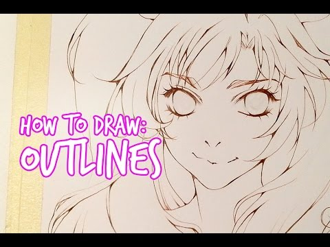 How To Draw: Dynamic Outlines ★ Slow Tutorial