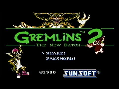 Gremlins 2: The New Batch - NES Gameplay