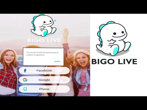 How to Unblock permanently Blocked Bigo Live account