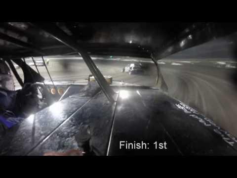 Macon Speedway Bmod Heat 1 10-1-16
