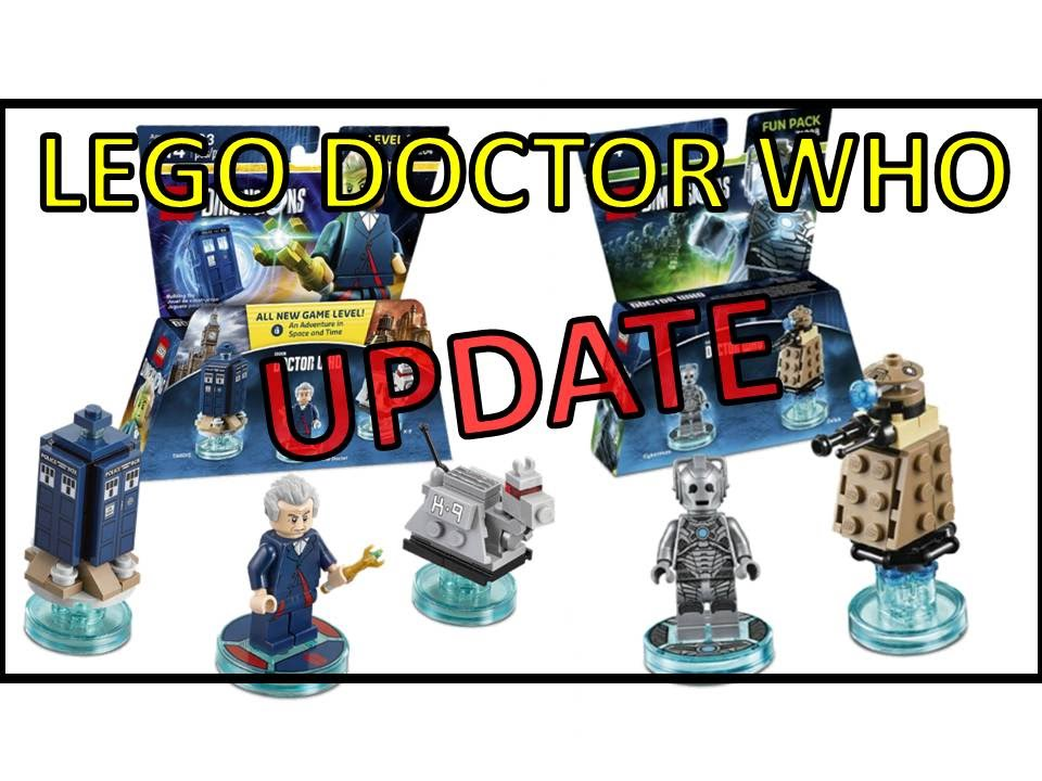 Dr Lego Dimensions Who Cyberman Fun Pack