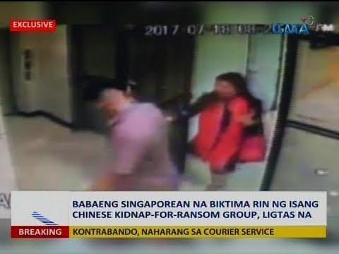 Saksi: Babaeng Singaporean na biktima rin ng isang Chinese kidnap-for-ransom group, ligtas na