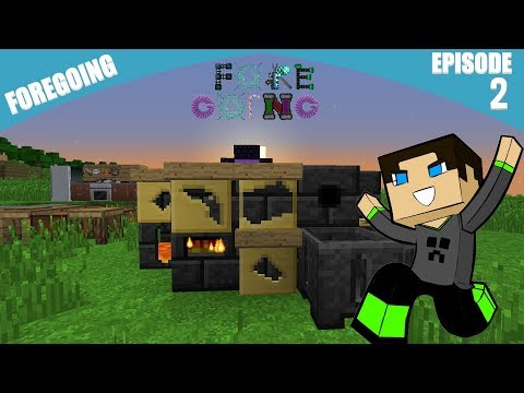 Minecraft Moddé 1.12.2 [FR]ᴴᴰ - Foregoing │Ep# 2 - Tinker's Construct