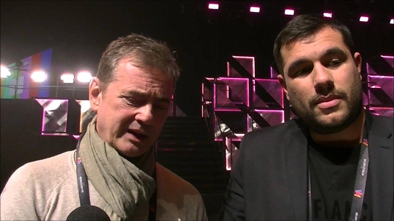 Melodifestivalen 2016 Final Interview With Christer Bjorkman And Edward Af Sillen 2016 03 10 Youtube