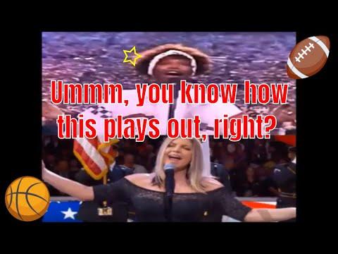 Fergie takes on Whitney Houston for best National Anthem by female singer vocalist