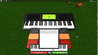 Glad You Came - The Wanted on a ROBLOX piano