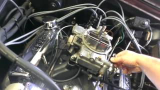 Rat City Rex 1966 Chevy II Nova 327ci start up, still needs to be tuned