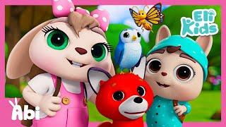 Forest Trip | Animal Colors | Eli Kids Songs & Nursery Rhymes
