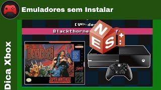 [Dica Xbox] Emulador de NES/SNES/MegaDrive/GB sem instalar