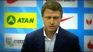 Олег Кононов после матча с Оболонью
