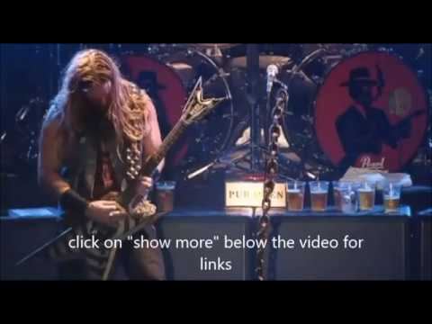 Black Label Society finish new album - Masterplan new video for The Chance!