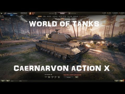 World of Tanks || Caernarvon Action X - Next possible Premium?